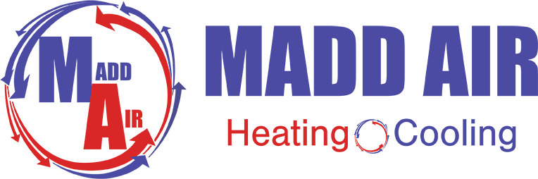 Madd Air Logo - Madd Roofing's sister Company