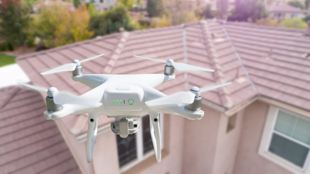 Residential Roof Inspection with Drones